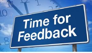 In mijn cursus presenteren, geef ik veel positieve feedback
