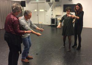 teamtrainingen met theater geven een heel eigen dynamiek